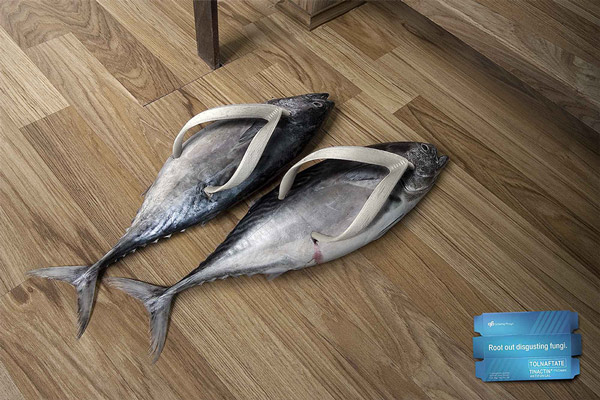 fish slippers