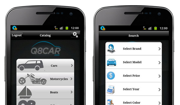 q8cars android